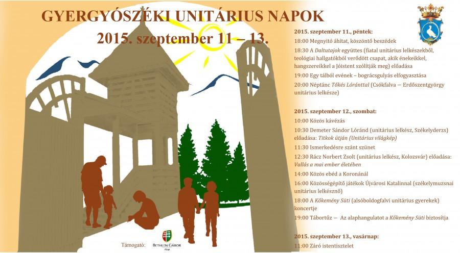 plakat-gyergyoszeki unitarius napok