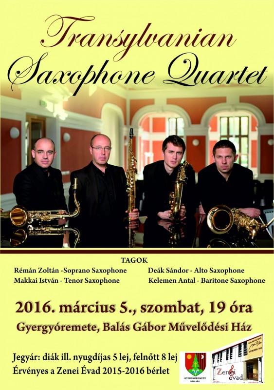 Transylvanian Saxophone Quartet1