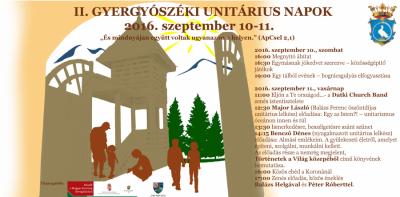 szorolap_II.Gyergyoszeki Unitarius Napok