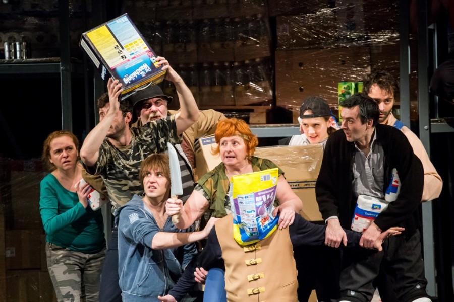 Újvidéki Színház- Fekete- az utolsó szerb felkelés 7