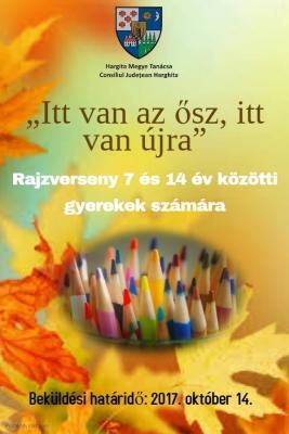 Rajzverseny - plakat