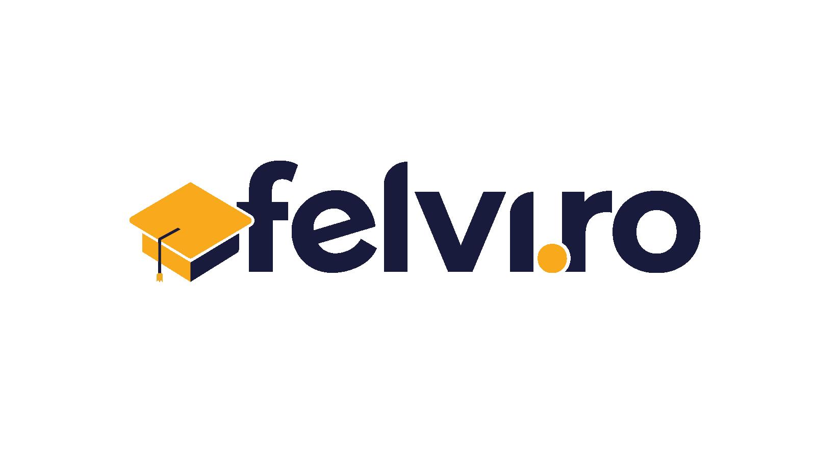 FELVI logó - kék